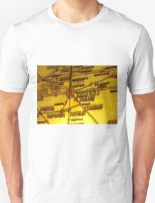 Railway Map T-Shirt