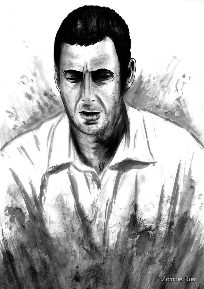 DARK COMEDIANS: Adam Sandler by Zombie Rust