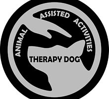 ANIMAL Assisted Activities  - THERAPY DOG logo 3 by SofiaYoushi
