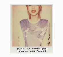 Taylor Swift 1989 Blank Space Polaroid Unisex T-Shirt