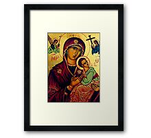 picture of the madonna - St Matthews Church, Grantham Framed Print