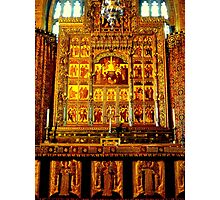 Altar - St. Matthews Church, Grantham Photographic Print