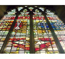 Window - at St. Matthews in Grantham Photographic Print