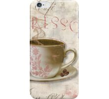 Patisserie Espresso Coffee Cup iPhone Case/Skin