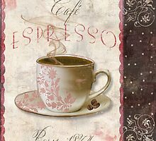 Patisserie Espresso Coffee Cup by mindydidit