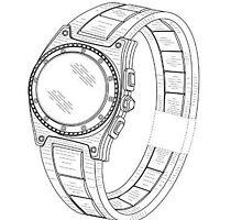Sample Watch Design Patent Drawings by devalpatrick