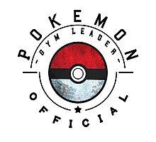 Pokemon Gym Leader Badge Photographic Print