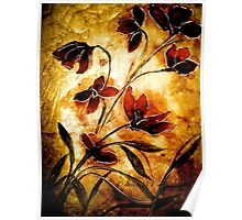 The Poppy Journals...Fabric.... Poster