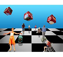 Does God Play Dice? Photographic Print
