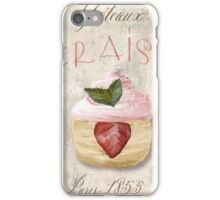 Patisserie Strawberry Cupcake iPhone Case/Skin