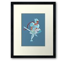 Social Justice Warrior Framed Print