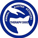 ANIMAL Assisted Activities  - THERAPY DOG logo 6 by SofiaYoushi