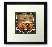 Crustle Framed Print