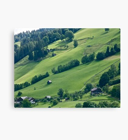 Dachstein . Alps. Austria .Spring - 2004. Favorites: 3 Views: 327 . Canvas Print