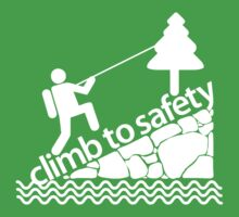 Climb to Safety White by Music
