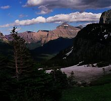 Logan's Pass, Glacier N.P., Montana by Rodney Johnson