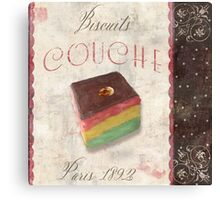 Patisserie Rainbow Layer Cookie Canvas Print