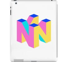 Nintendo 64 Logo Inverted iPad Case/Skin