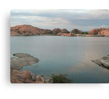 Willow Lake Dam Canvas Print