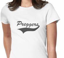 Team Preggers Womens Fitted T-Shirt