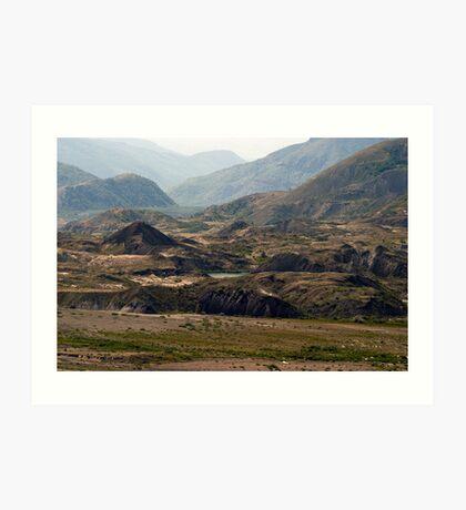 Mount St. Helens Landscape Art Print