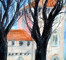 Pavia Castle by Rosa  D'Alessio