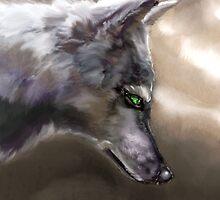 Wolf Profile 3-A by beonarri