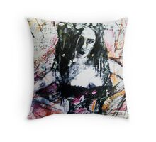The Mechanical Noises Of Hysteria.. Throw Pillow