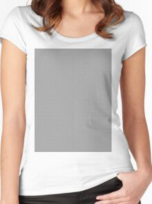 Basket Cage #7 Women's Fitted Scoop T-Shirt