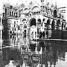ST  MARK  FLOODS  IN B/W by Scott  d&#x27;Almeida