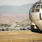 Old And New - March Airforce base - California - USA by mikequigley