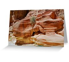 Erosion Greeting Card