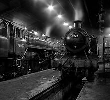 Inside The Engine Shed by Les Forrester