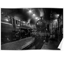 Inside The Engine Shed Poster
