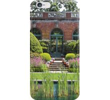 The Garden House at Filoli iPhone Case/Skin