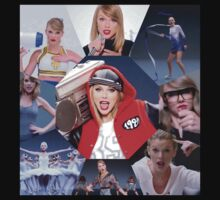Taylor Swift Shake It Off Personas Kids Clothes