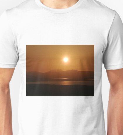 Honey Coloured Donegal Hills - Ireland Unisex T-Shirt