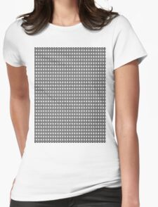 Basket Cage #4 Womens Fitted T-Shirt