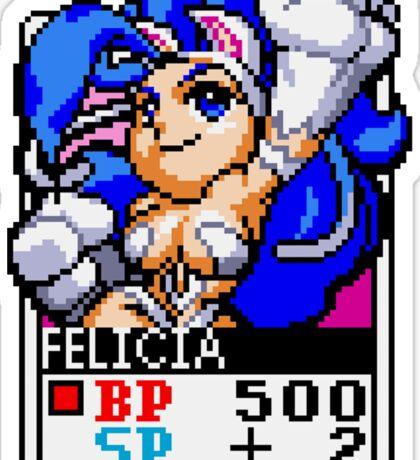 Felicia - Darkstalkers Sticker