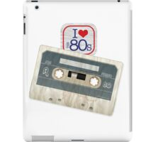 I Love the 80s - Cassette iPad Case/Skin
