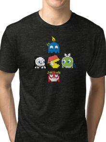 The Christmas Ghosts Tri-blend T-Shirt