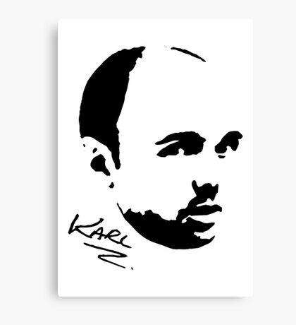 Karl Pilkington - Karl Canvas Print