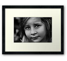Days of innocence Framed Print