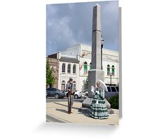 16th Tennessee Infantry  Monument Greeting Card