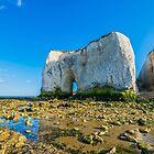 The arch of Kingsgate Beach in Kent by Luke Farmer