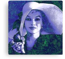 LAVENDAR LADY Canvas Print
