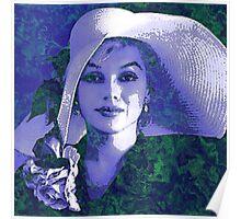 LAVENDAR LADY Poster