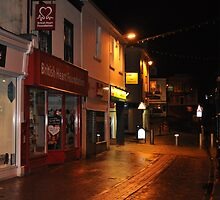 st austell at night by robertjadams