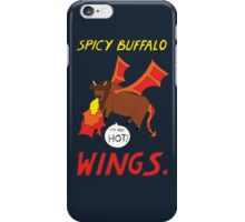 Spicy Buffalo Wings iPhone Case/Skin