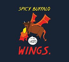 Spicy Buffalo Wings by RedPandonite